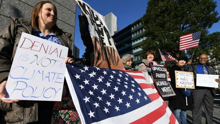 ΗΠΑ: Αποχωρούν από τη συνθήκη του Παρισιού, αν δεν αλλάξουν οι όροι της