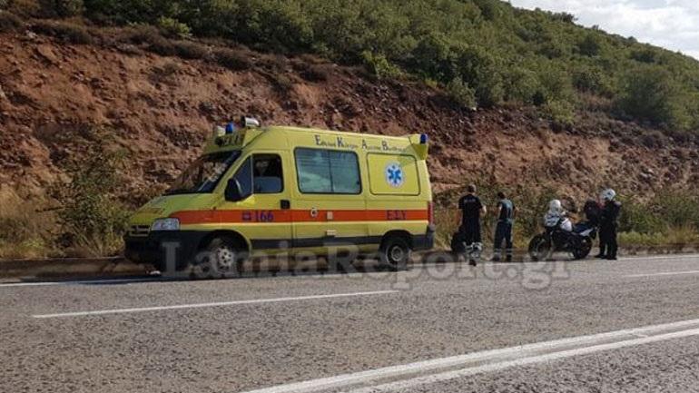 Λαμία: Άνδρας εντοπίστηκε να κοιμάται στην άκρη της εθνικής οδού