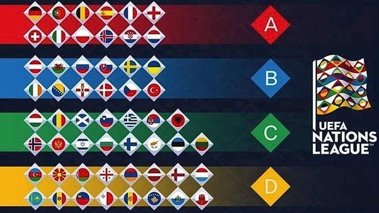 Η Ελλάδα στο 3ο γκρουπ της UEFA National League
