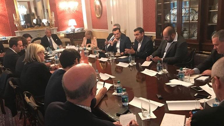 Τσίπρας: «Το μήνυμα προς τη διεθνή κοινότητα είναι ότι η Ελλάδα έχει επιστρέψει, με ανάπτυξη και σταθερότητα»