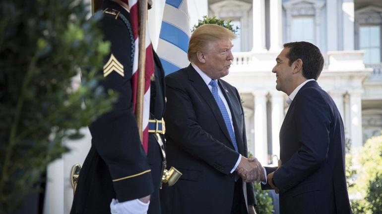 Εγκώμια Τραμπ προς τον Αλέξη Τσίπρα