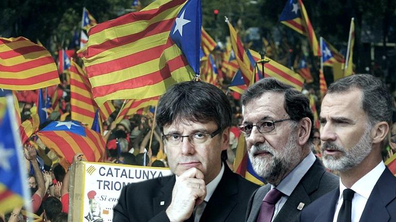 Ώρα μηδέν για Ισπανία και Καταλονία