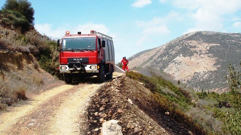 H Goodyear έκανε δωρεά ελαστικών στο Πυροσβεστικό Σώμα