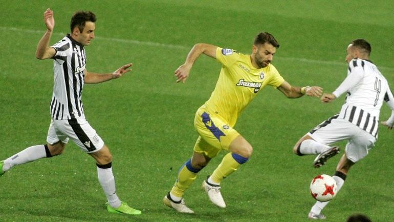 ΠΑΟΚ-Αστέρας Τρίπολης 2-0 (Live)