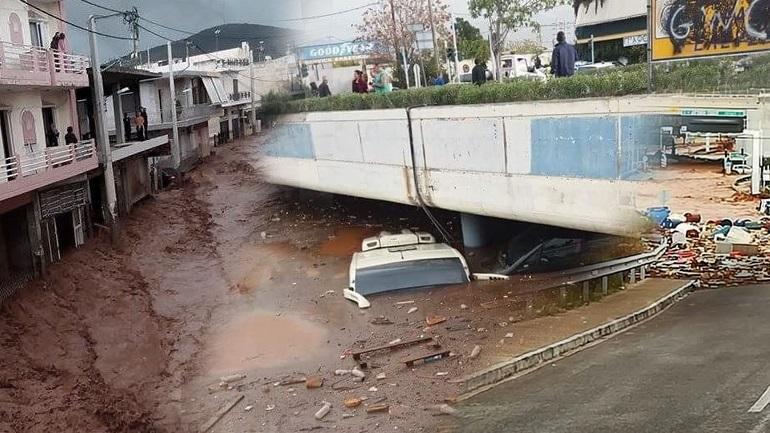 Εκτεταμένες καταστροφές στη Μάνδρα - Μία νεκρή