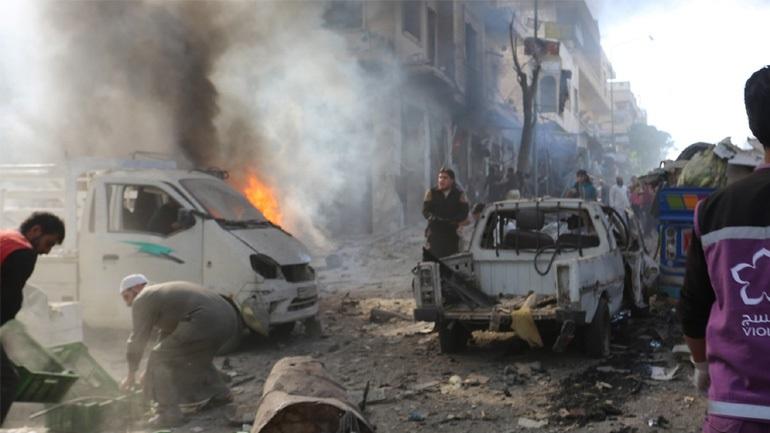 Συρία: Παγιδευμένο αυτοκίνητο εξερράγη σε καταυλισμό εκτοπισμένων, τουλάχιστον 26 νεκροί