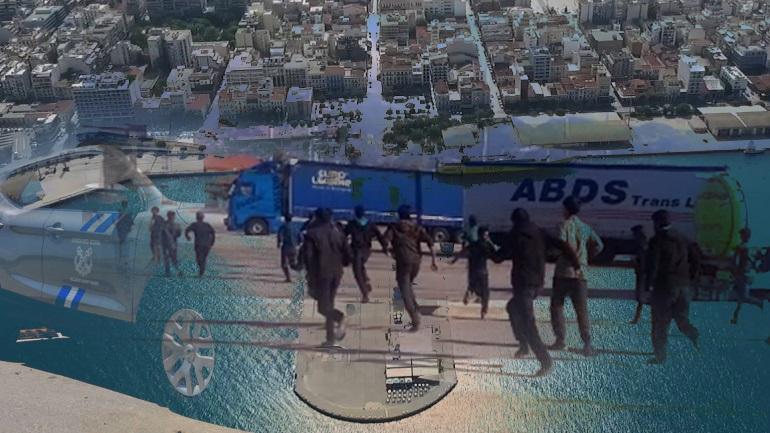 Το απόλυτο χάος στο λιμάνι της Πάτρας