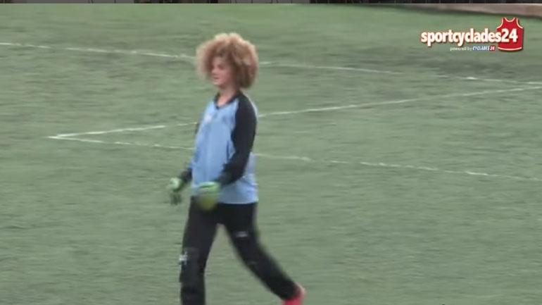 Τερματοφύλακας έβαλε γκολ με βολέ στη Σύρο