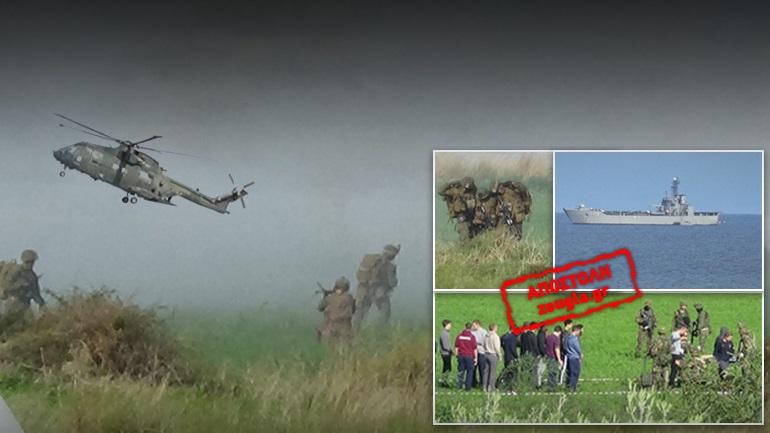 """Επίθεση τρομοκρατών """"Σεφτάχ"""" στο αεροδρόμιο του Μάλεμε"""