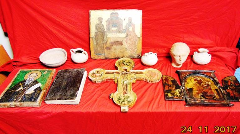 Συνελήφθη 67χρονος για υπόθεση αρχαιοκαπηλίας - Κατασχέθηκαν βυζαντινές εικόνες