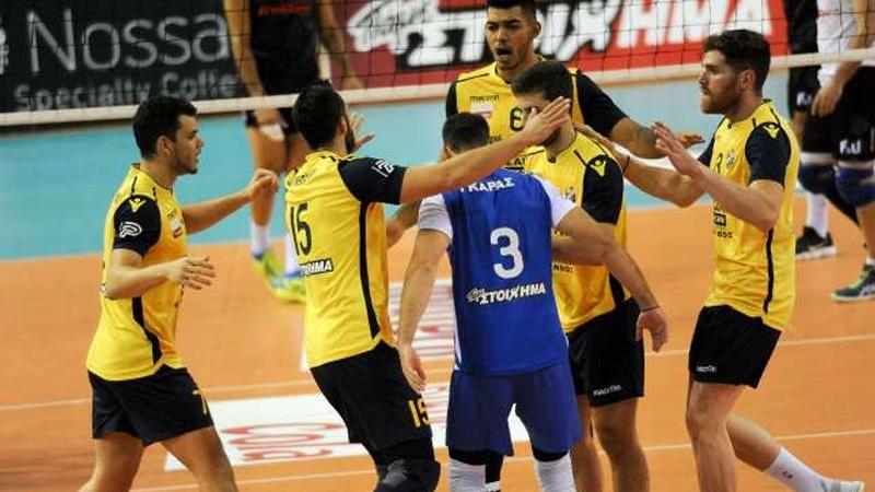 Volley League: Πρώτη νίκη για τον Παμβοχαϊκό, 3-0 τον Παναθηναϊκό