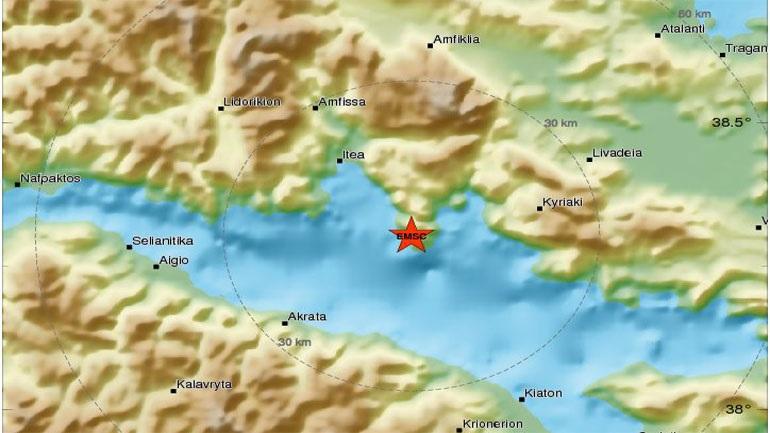 Σεισμός 4,9 Ρίχτερ στην Ιτέα
