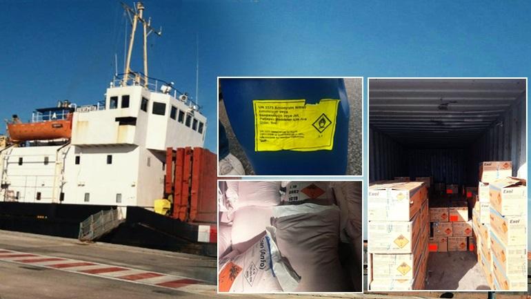 Πλοίο - βόμβα στο λιμάνι του Ηρακλείου