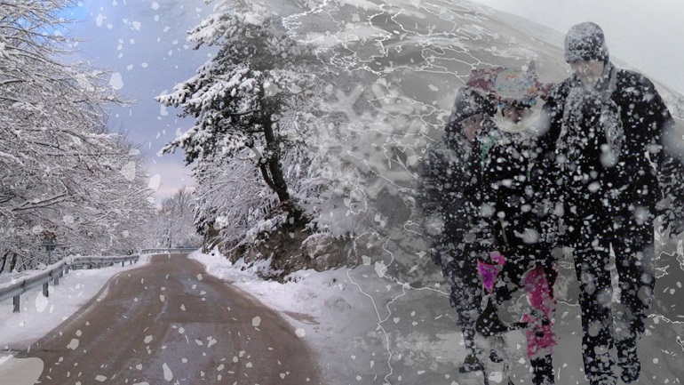 Χιόνια και καταιγίδες