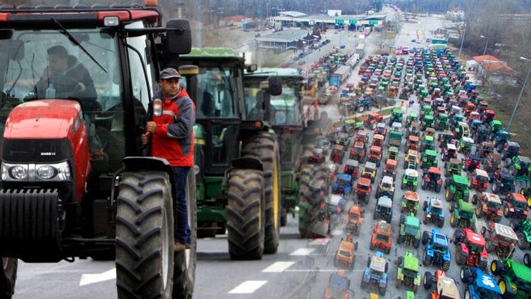 Μπλόκα στήνουν σε όλη την Ελλάδα οι αγρότες