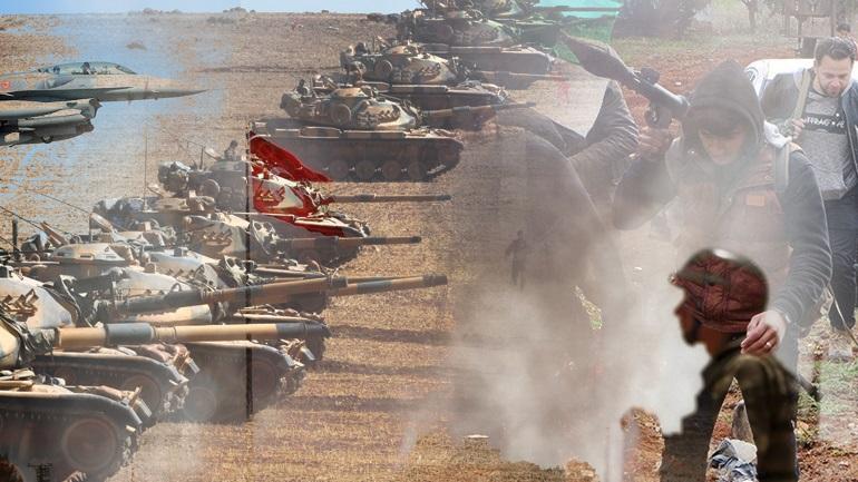 Η Τουρκία εισβάλλει στη Συρία