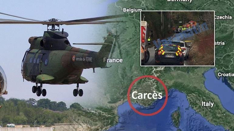 Σύγκρουση ελικοπτέρων στη Γαλλία με πέντε νεκρούς