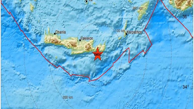 Σεισμός 4 Ρίχτερ στη Σητεία