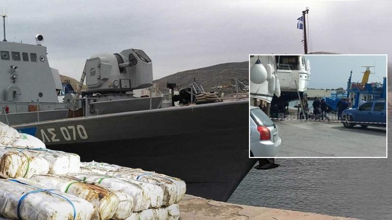 Ποσότητα-«μαμούθ» 2 τόνων χασίς στην Κρήτη