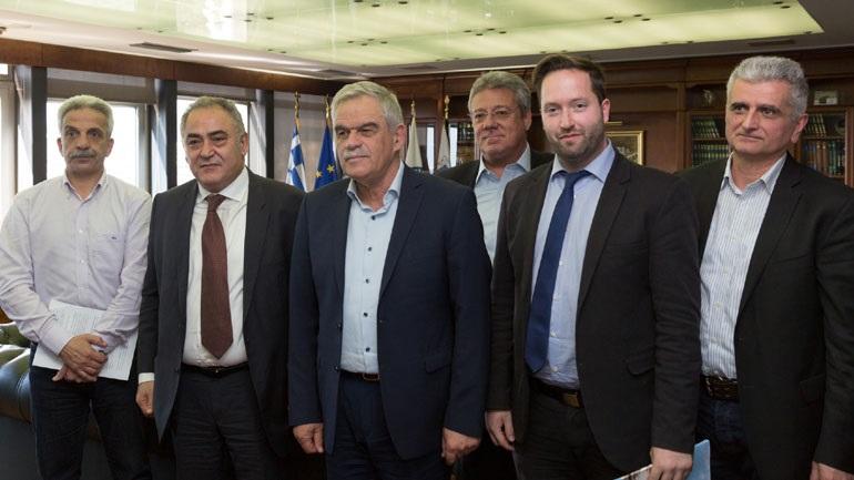 Συνάντηση Τόσκα με το Επαγγελματικό Επιμελητήριο Αθηνών για την αστυνόμευση του κέντρου