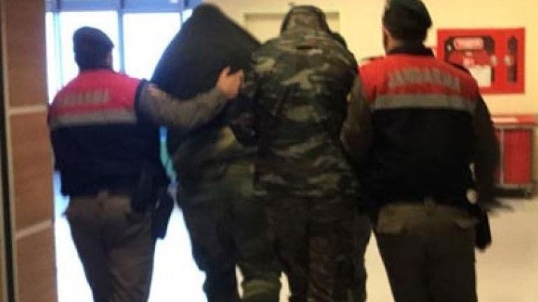 Στο δικαστήριο οδηγούνται οι δύο Έλληνες στρατιωτικοί