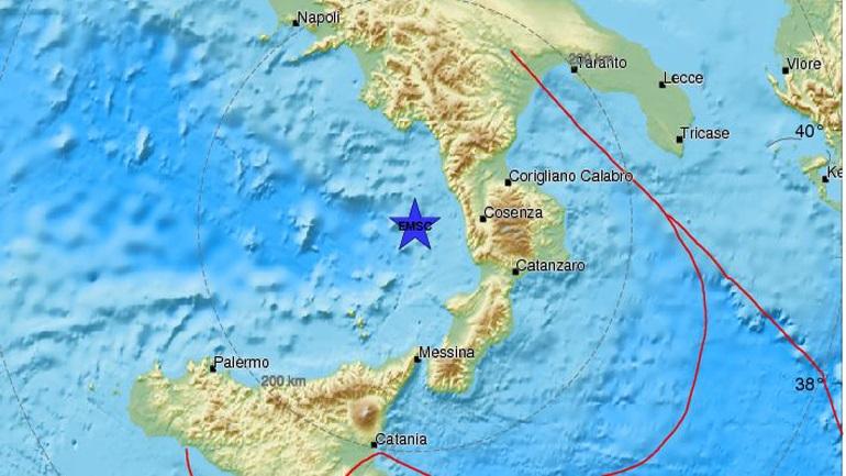 Σεισμός 4,2 στη Νότια Ιταλία