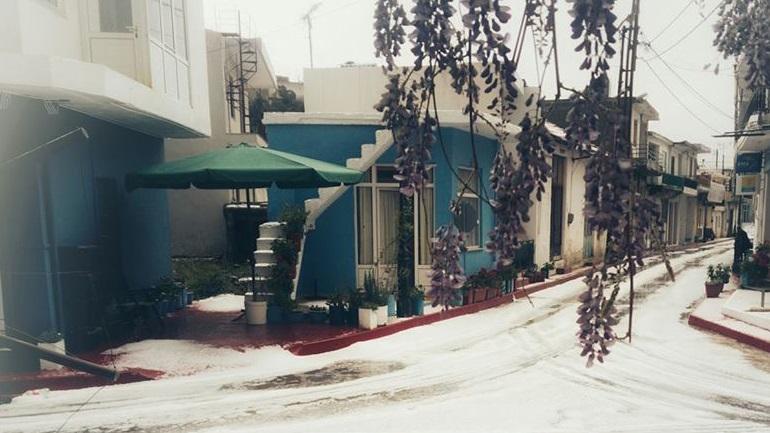 Πάσχα με… χιονόπτωση στα ορεινά της Κρήτης 2406741