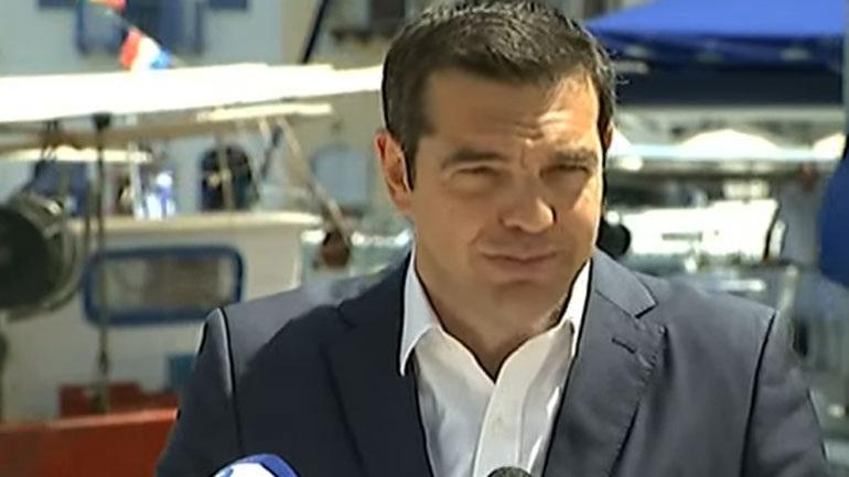 Τσίπρας από Καστελόριζο: «Η Ελλάδα δεν απειλεί και δεν φοβάται κανέναν»