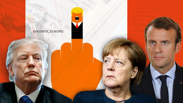 "Der Spiegel: ""Goodbye Europe!"""