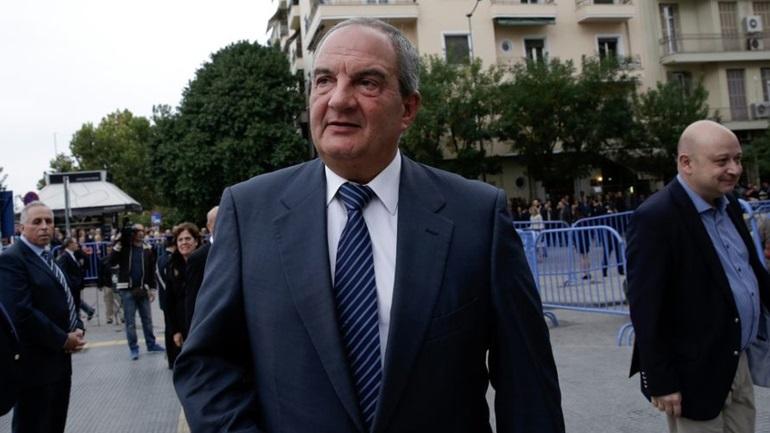 Ψήφισε στις εσωκομματικές εκλογές της Ν.Δ ο πρώην πρωθυπουργός Κώστας Καραμανλής