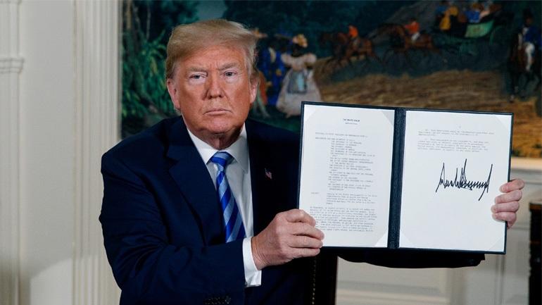 Οι ΗΠΑ «μπορεί να επιβάλουν κυρώσεις» σε εταιρείες της Ε.Ε που συνεργάζονται με το Ιράν