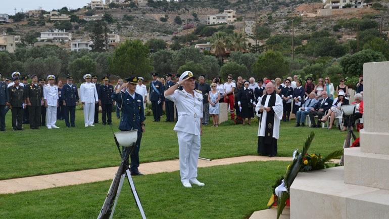 Επετειακές εκδηλώσεις για τη Μάχη της Κρήτης παρουσία του αρχηγού ΓΕΕΘΑ
