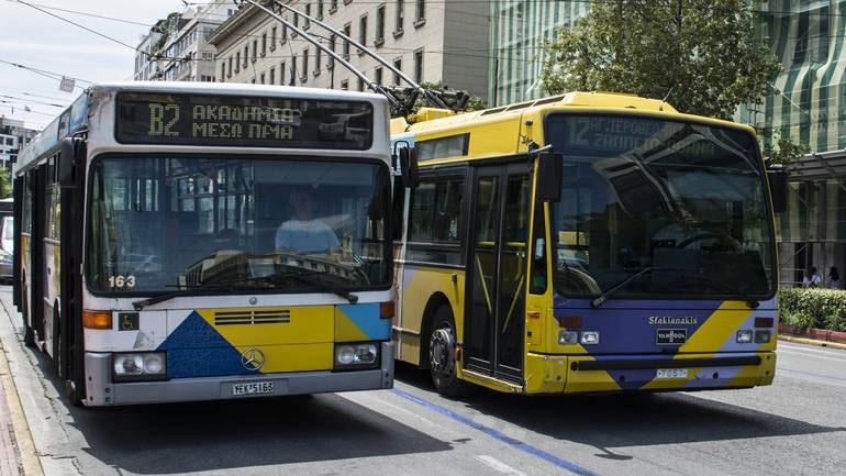Στάσεις εργασίας αύριο σε μετρό, λεωφορεία και τρόλεϊ