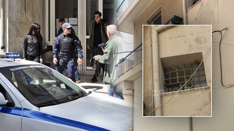 Aπόδραση επικίνδυνων κρατουμένων από το Α.Τ. Αργυρούπολης