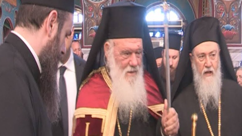 Στην Κόρινθο ο Αρχιεπίσκοπος Ιερώνυμος για την εορτή του Αποστόλου Παύλου