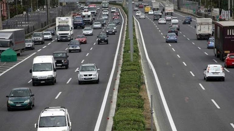 Κυκλοφοριακές ρυθμίσεις στην Εθνική Οδό Αθηνών – Κορίνθου