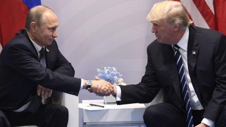 Τραμπ: «O Πούτιν είναι ανταγωνιστής, όχι εχθρός»