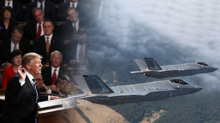 Ο Τραμπ ζητεί να δοθούν τα F-35 στην Τουρκία