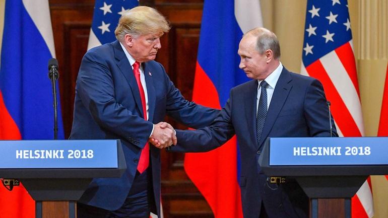 Η συνάντηση Τραμπ - Πούτιν προκάλεσε θύελλα
