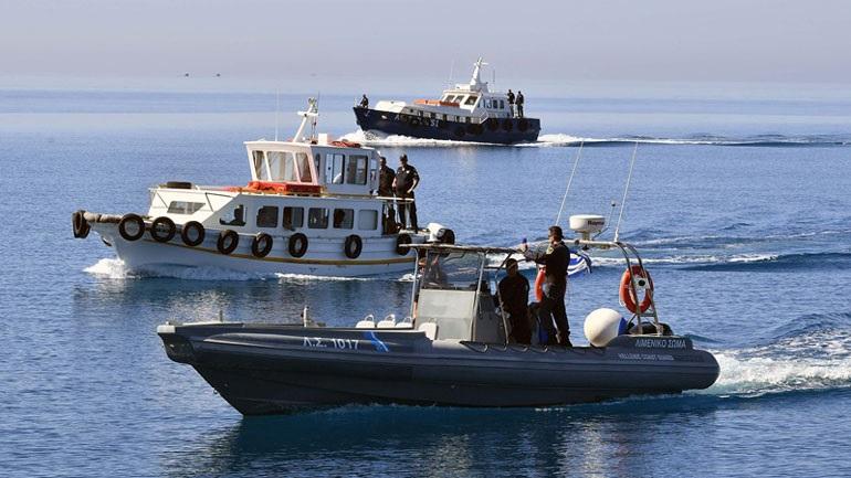 Σύγκρουση ελληνικού αλιευτικού με τουρκικό σκάφος στη Σύμη