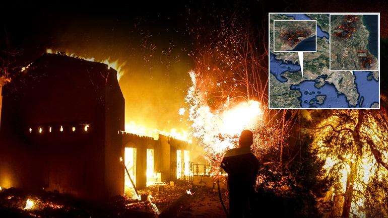 Αποτέλεσμα εικόνας για Τό πνευματικό μήνυμα ἀπό τίς πυρκαγιές στήν Κινέτα καί στό Μάτι