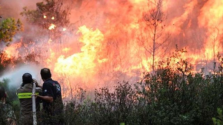 Πού υπάρχει υψηλός κίνδυνος πυρκαγιάς σήμερα