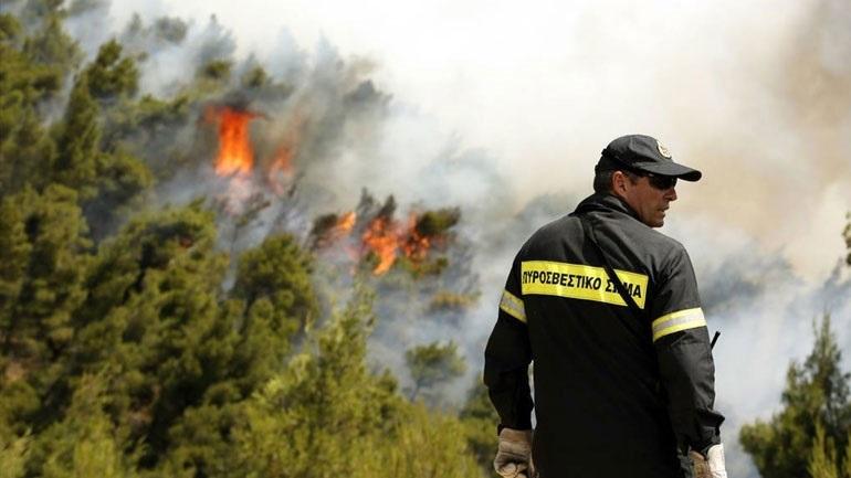 Πολύ υψηλός κίνδυνος πυρκαγιάς (κατηγορία 4) για αύριο Παρασκευή