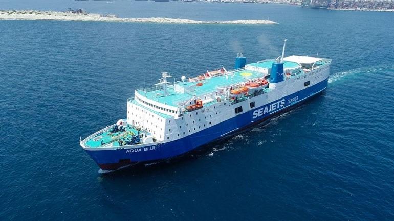 Ανακοίνωση της SEAJETS για την πρόσκρουση του πλοίου «Aqua Blue» στο λιμάνι της Σκιάθου