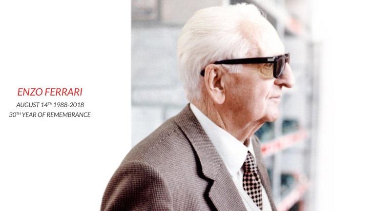 Πέρασαν 30 χρόνια από το θάνατο του σπουδαίου Enzo Ferrari 6ac88373662