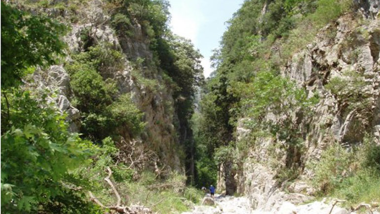 Missing 3 French walkers - Lost in the Taygetos Gorge