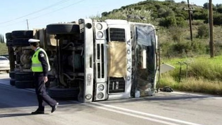 Traffic on the Athens - Lamia highway was restored