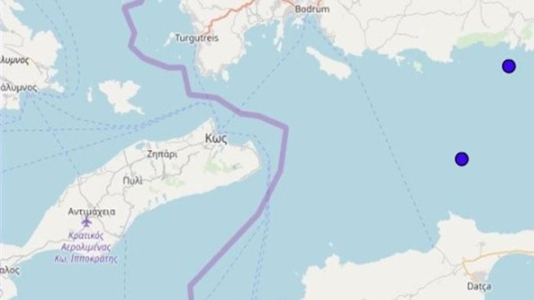 Earthquake 3.8 Richter east of Kos