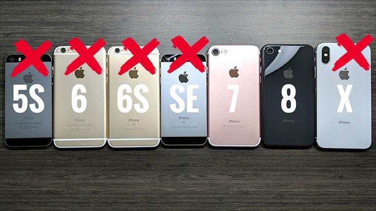 Apple: Σταματά η παραγωγή των iPhone X, iPhone 6s και iPhone SE