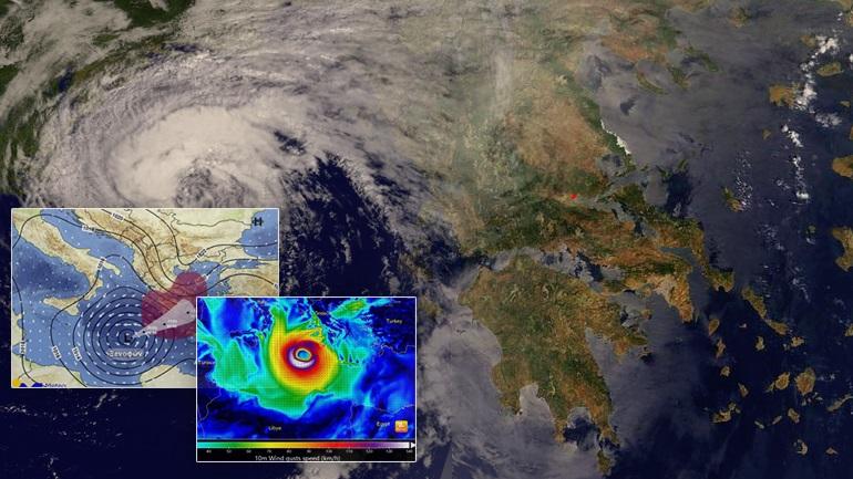 """Οι Ιταλοί αναβαθμίζουν σε τυφώνα τον """"Ζορμπά"""""""